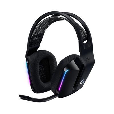 Audífonos Gamer Logitech G733 Lightspeed Rgb Black