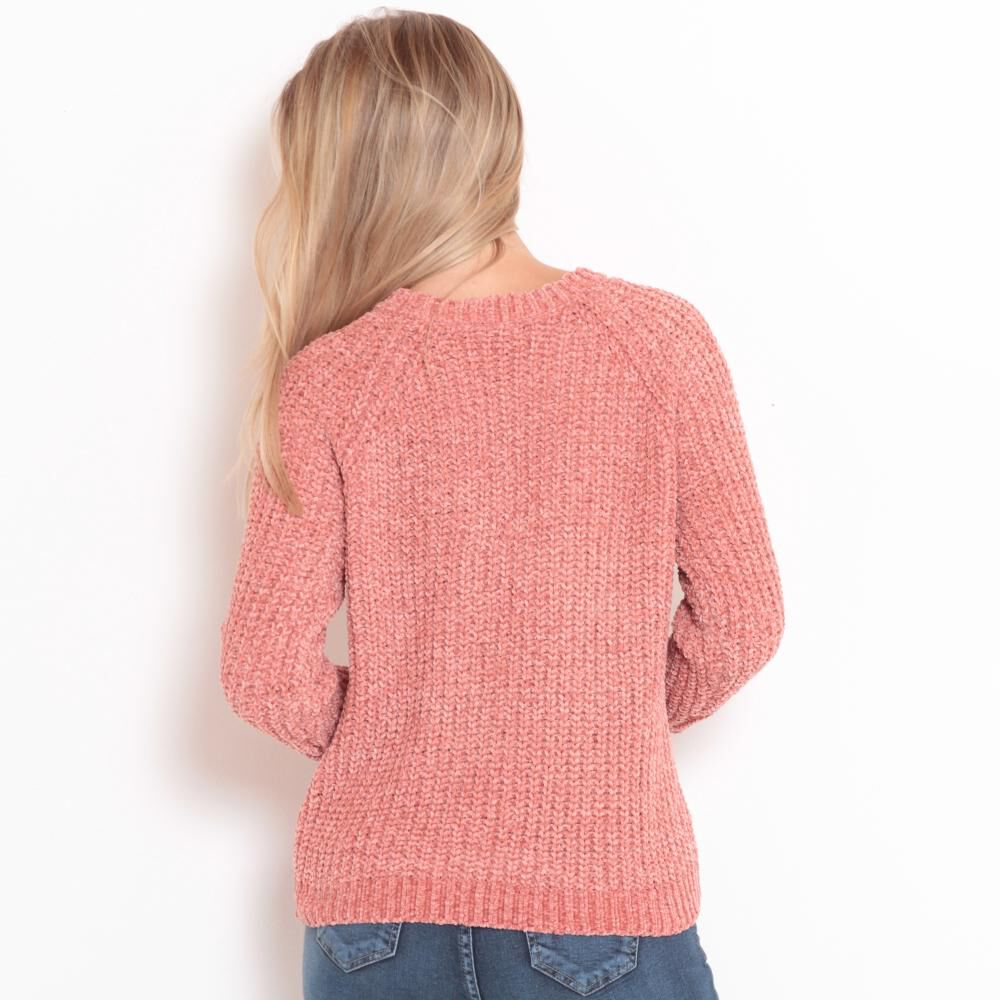 Sweater Tejido Cuello V Mujer Wados image number 3.0