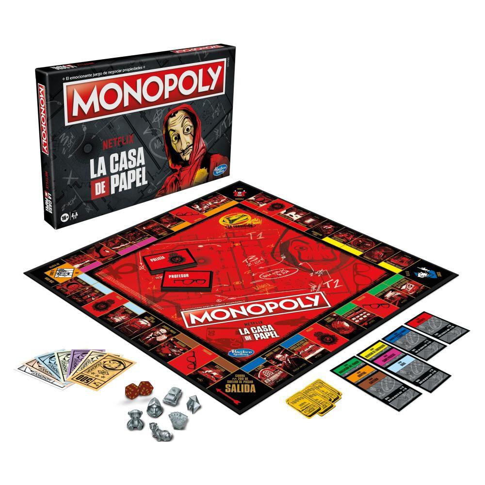 Juego De Mesa Monopoly La Casa De Papel image number 1.0