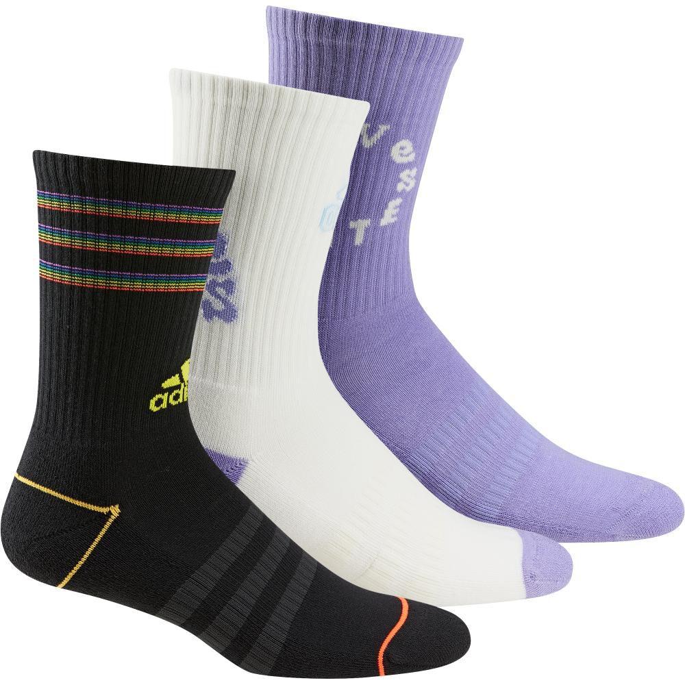 Calcetines Clásicos Adidas Love Unites Tiro Cushioned Adidas / 3 Pares image number 0.0