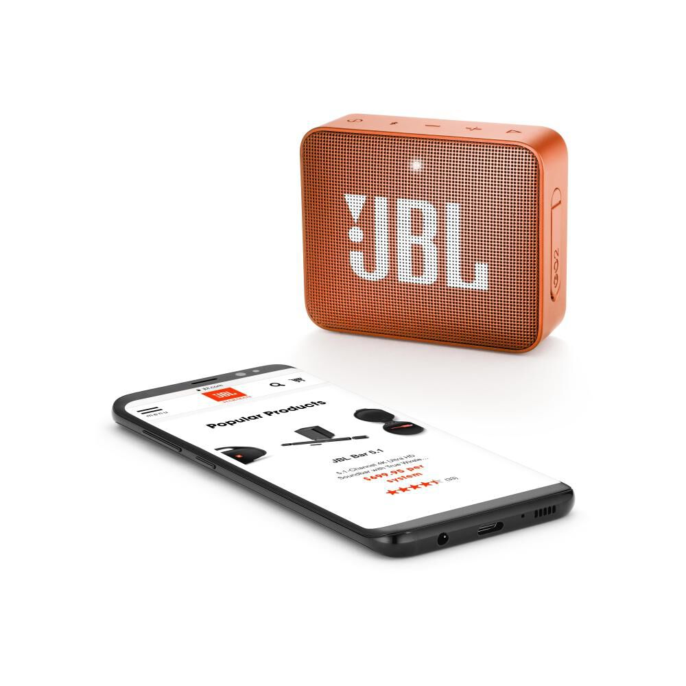Parlante Bluetooth Jbl Go 2 Orange image number 1.0