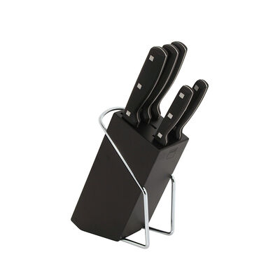 Set De Cuchillos Magefesa Blade / 6 Piezas + Taco Madera