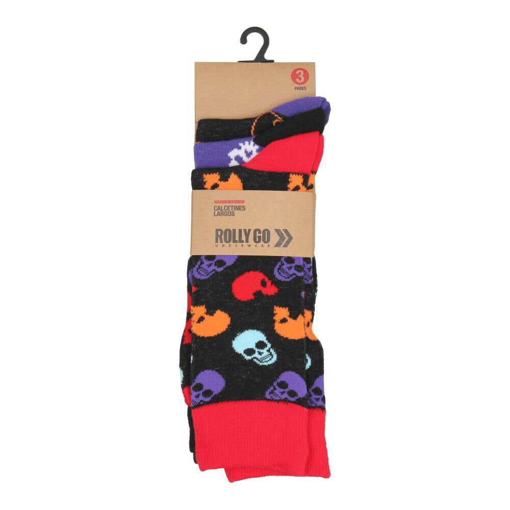Calcetines Mujer Rolly Go Rgrisocks1 image number 0.0
