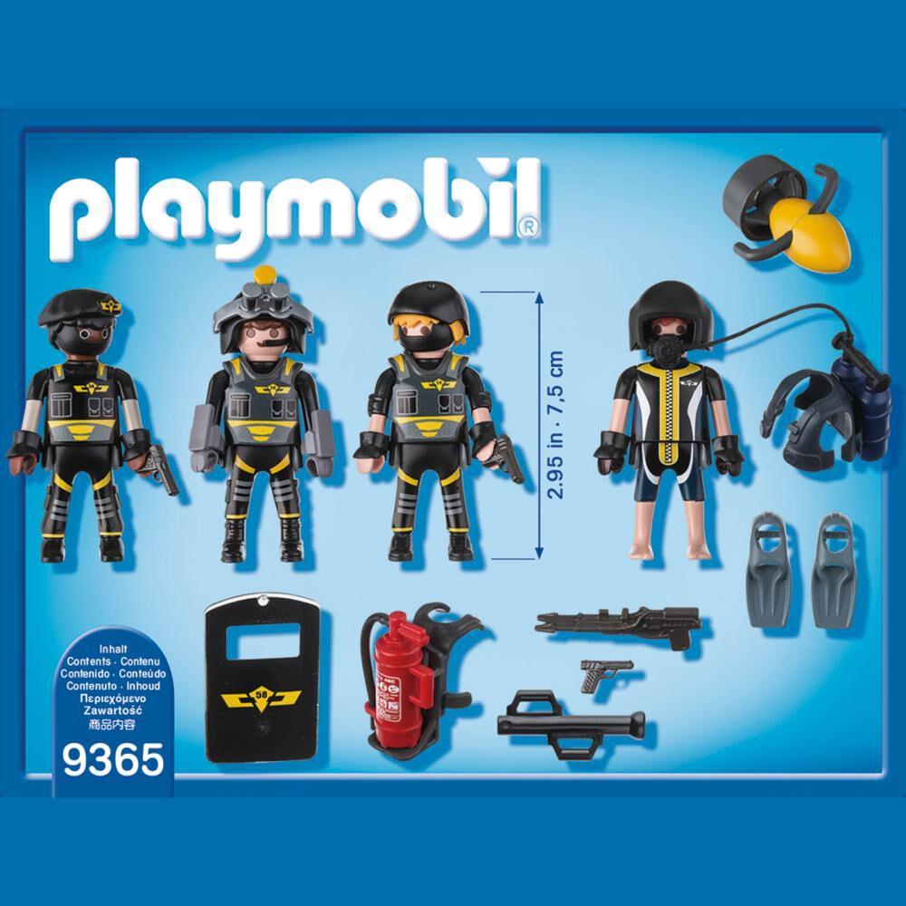 Figura De Acción Playmobil Equipo De Las Fuerzas Especiales image number 2.0
