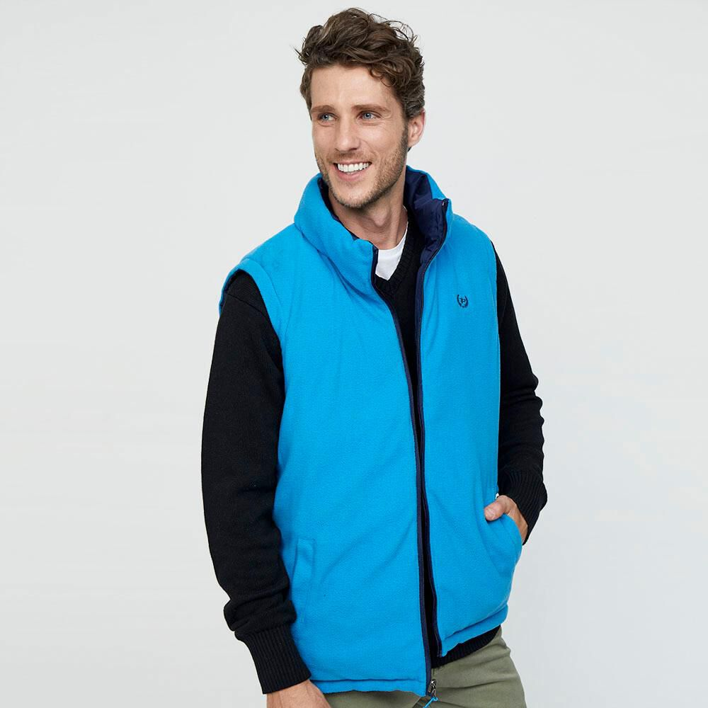 Parka Sin Mangas Reversible Hombre Peroe image number 4.0