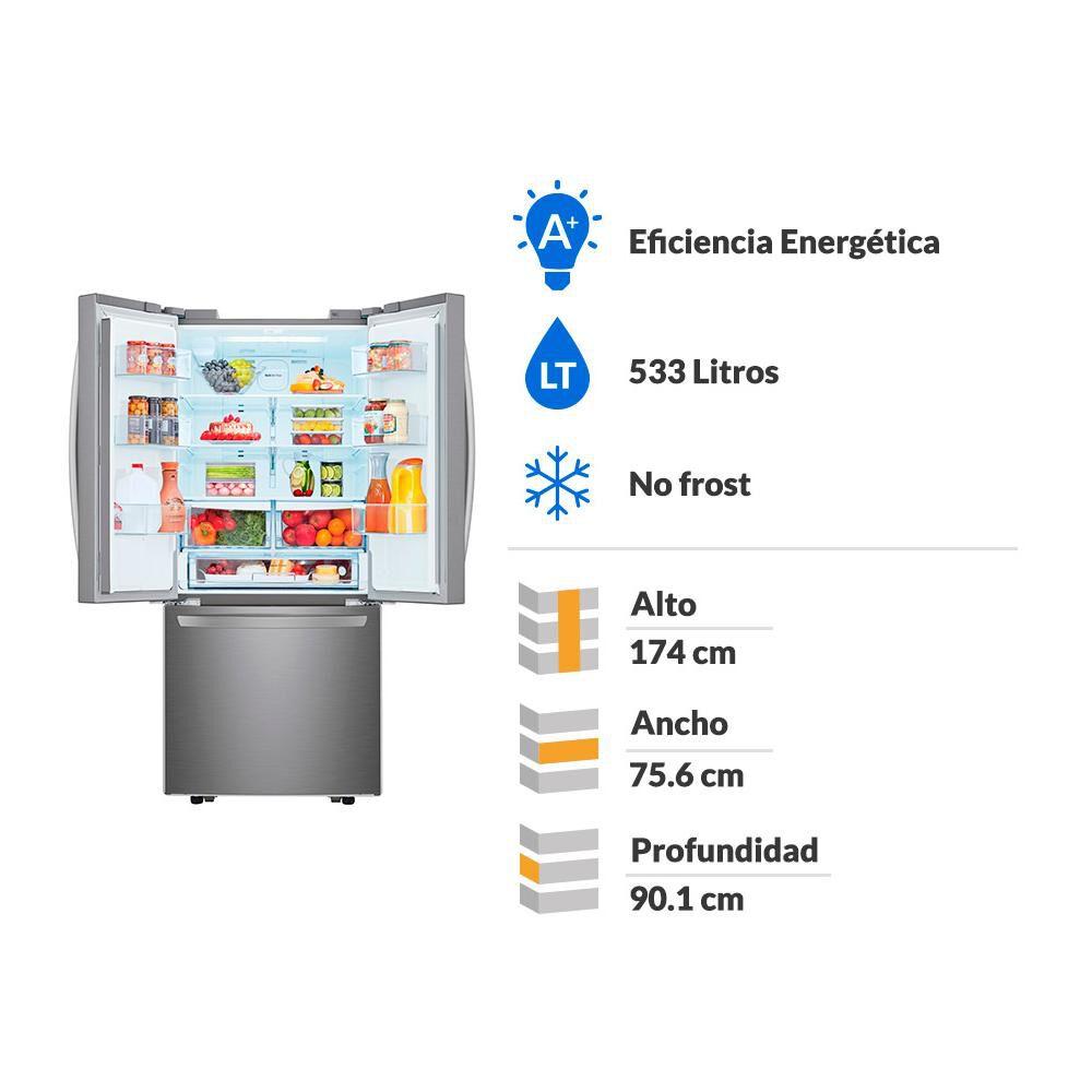 Refrigerador Side By Side Lg French Door LM22SGPK / No Frost / 533 Litros image number 1.0