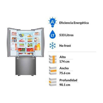 Refrigerador Side By Side Lg French Door LM22SGPK / No Frost / 533 Litros