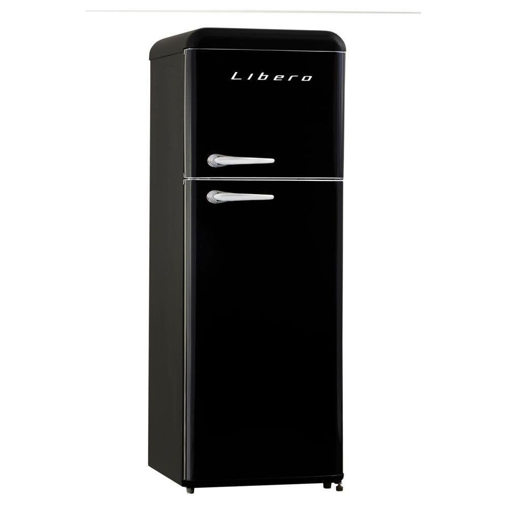 Refrigerador Libero Retro Lrt-210Dfnr Negro / Frío Directo / 203 Litros image number 2.0