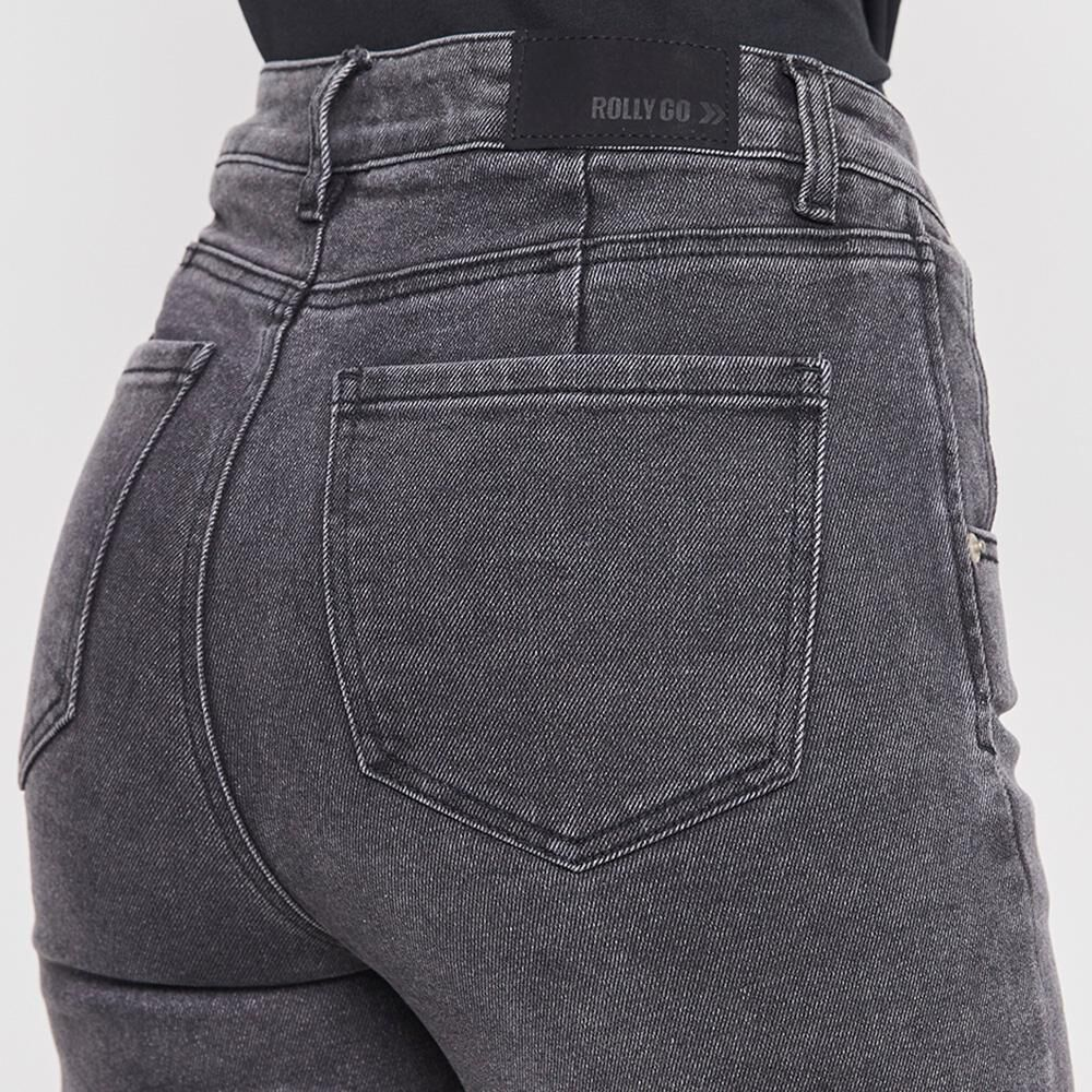 Jeans Mujer Tiro Alto Super Skinny Rolly Go image number 4.0