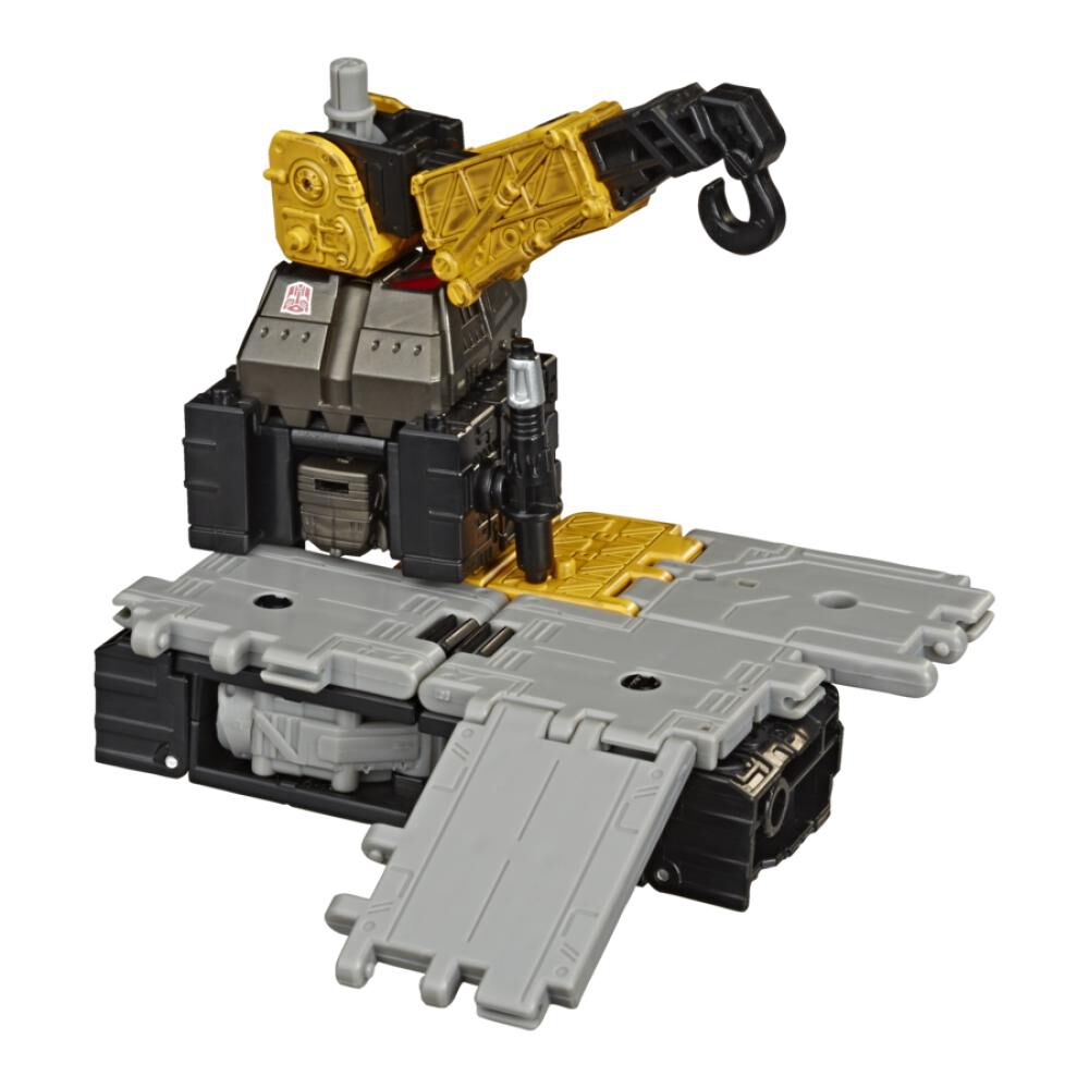 Figura De Accion Transformers Gen Wfc E Deluxe Ironworks image number 3.0