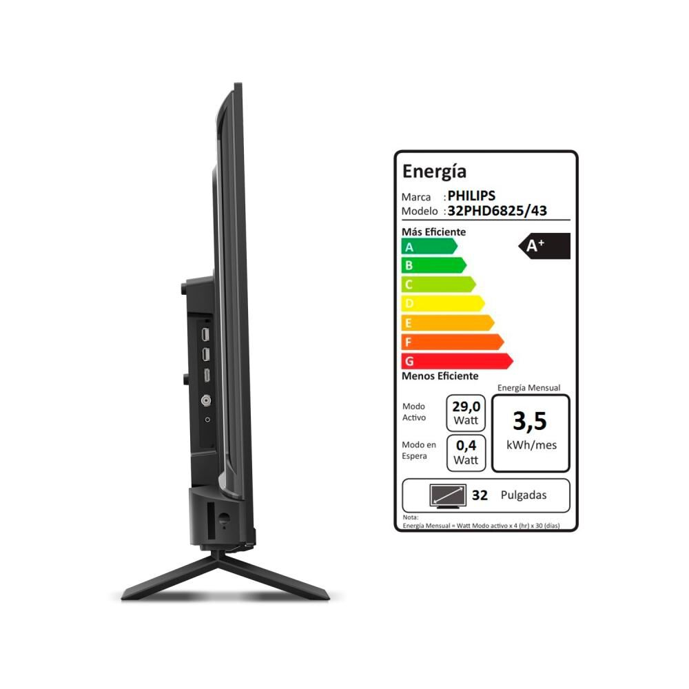 """Led Philips PHD6825 / 32 """" / HD / Smart Tv image number 4.0"""