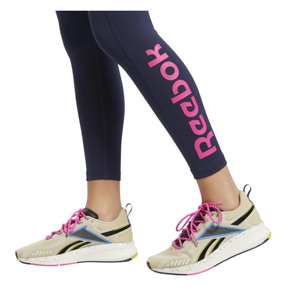Calza Mujer Reebok Training Essentials Linear Logo image number 5.0