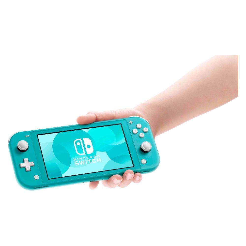 Consola Nintendo Switch Lite Turquesa image number 1.0