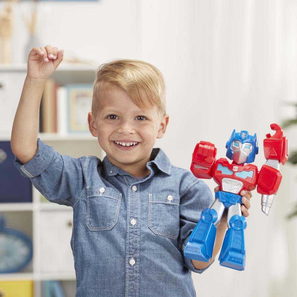 Figura De Accion Transformers Mega Mighties Optimus Prime image number 2.0