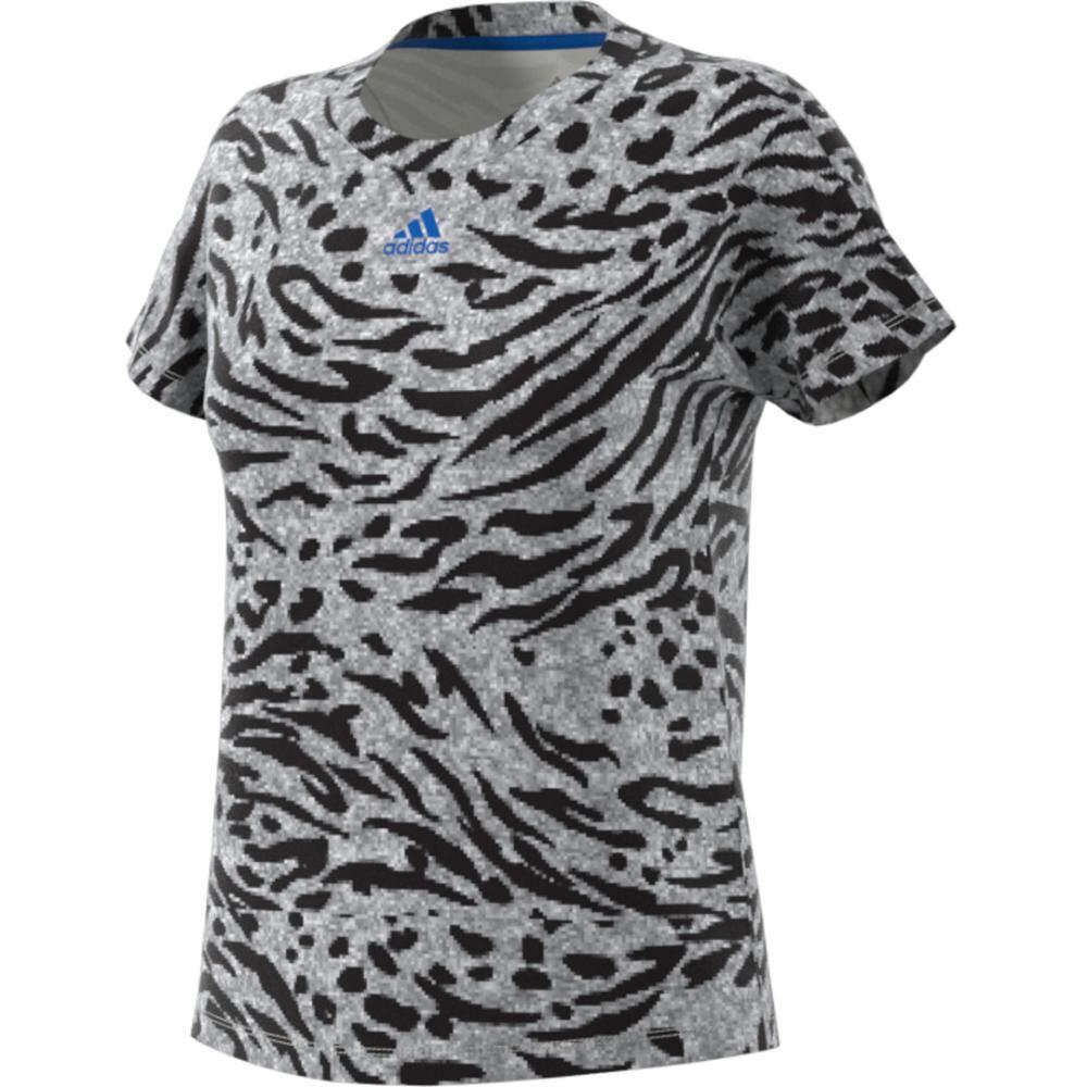 Camiseta Mujer Adidas Allover Print image number 7.0