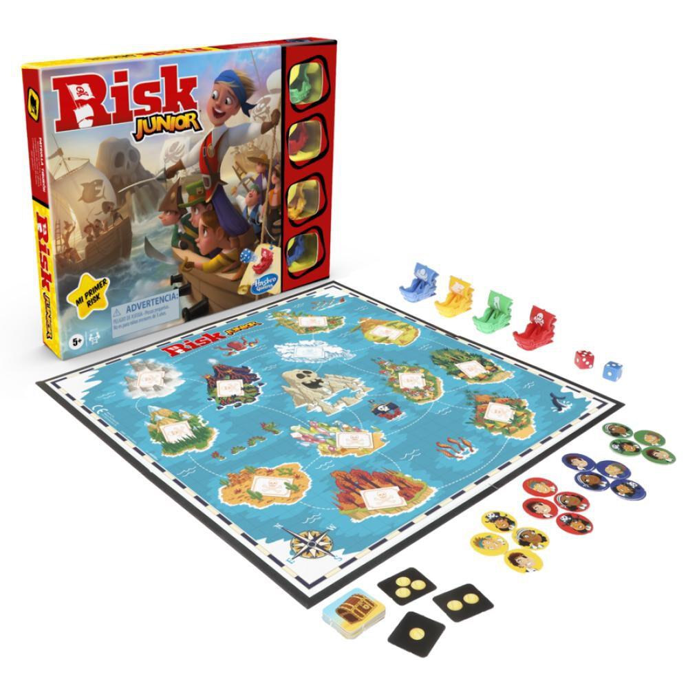 Juegos De Estrategia Hasbro Risk Junior image number 0.0