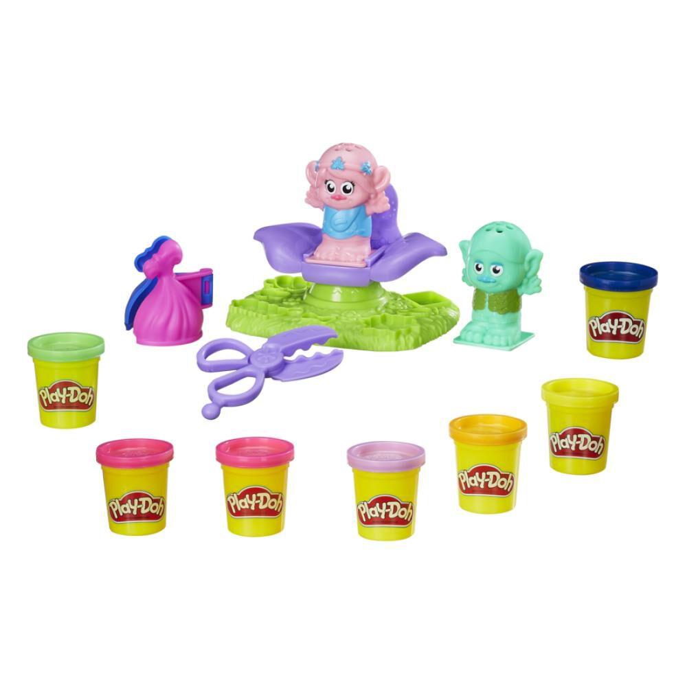 B9027 Play-Doh Trolls Salón De image number 1.0
