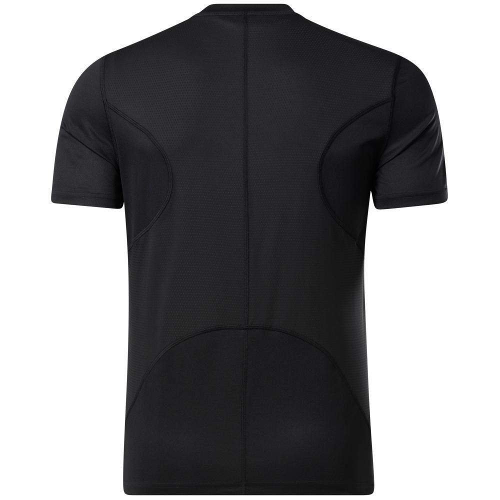Polera Hombre Reebok Run Essentials Speedwick Short Sleeve Tee image number 5.0