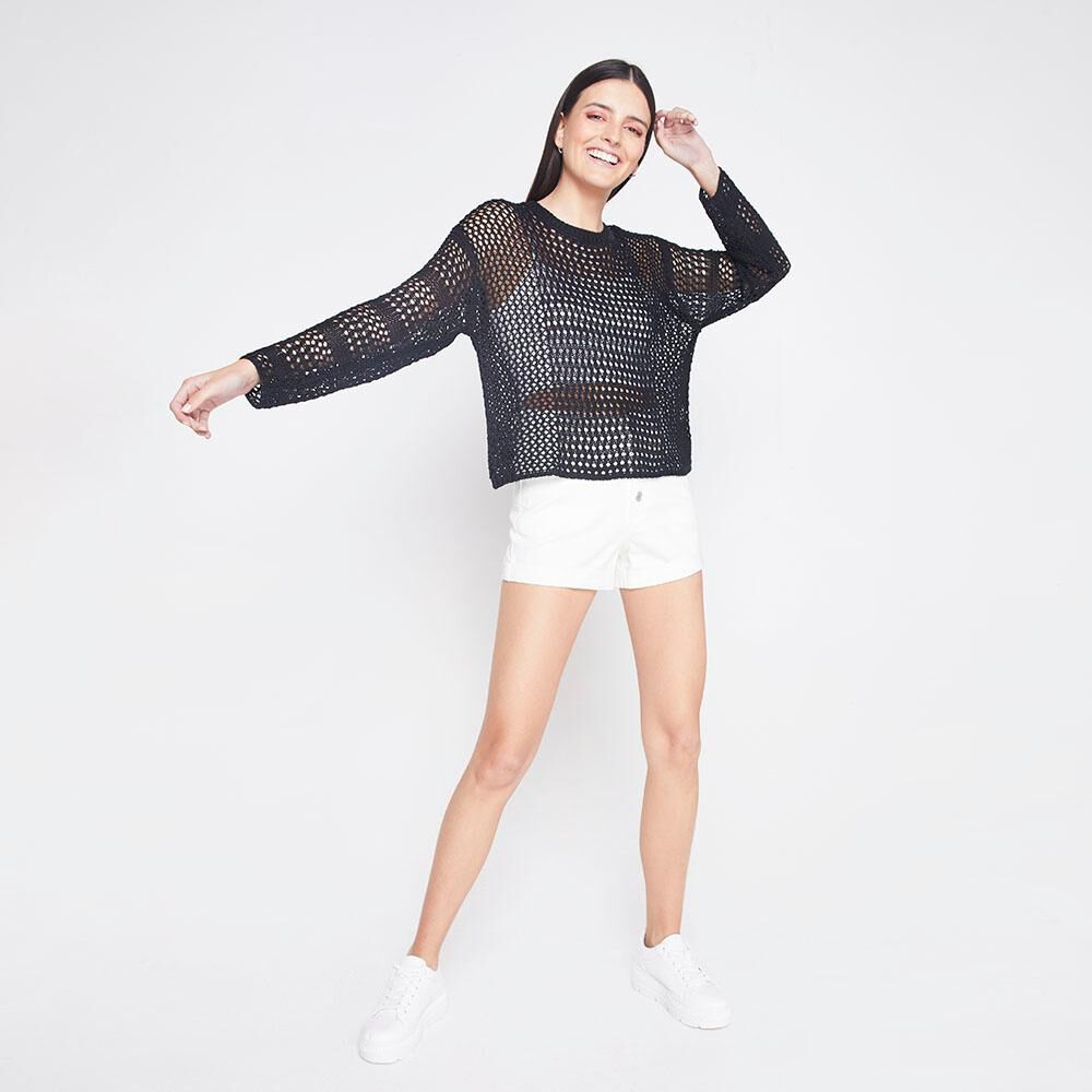 Sweater Tejido Mujer Freedom image number 4.0