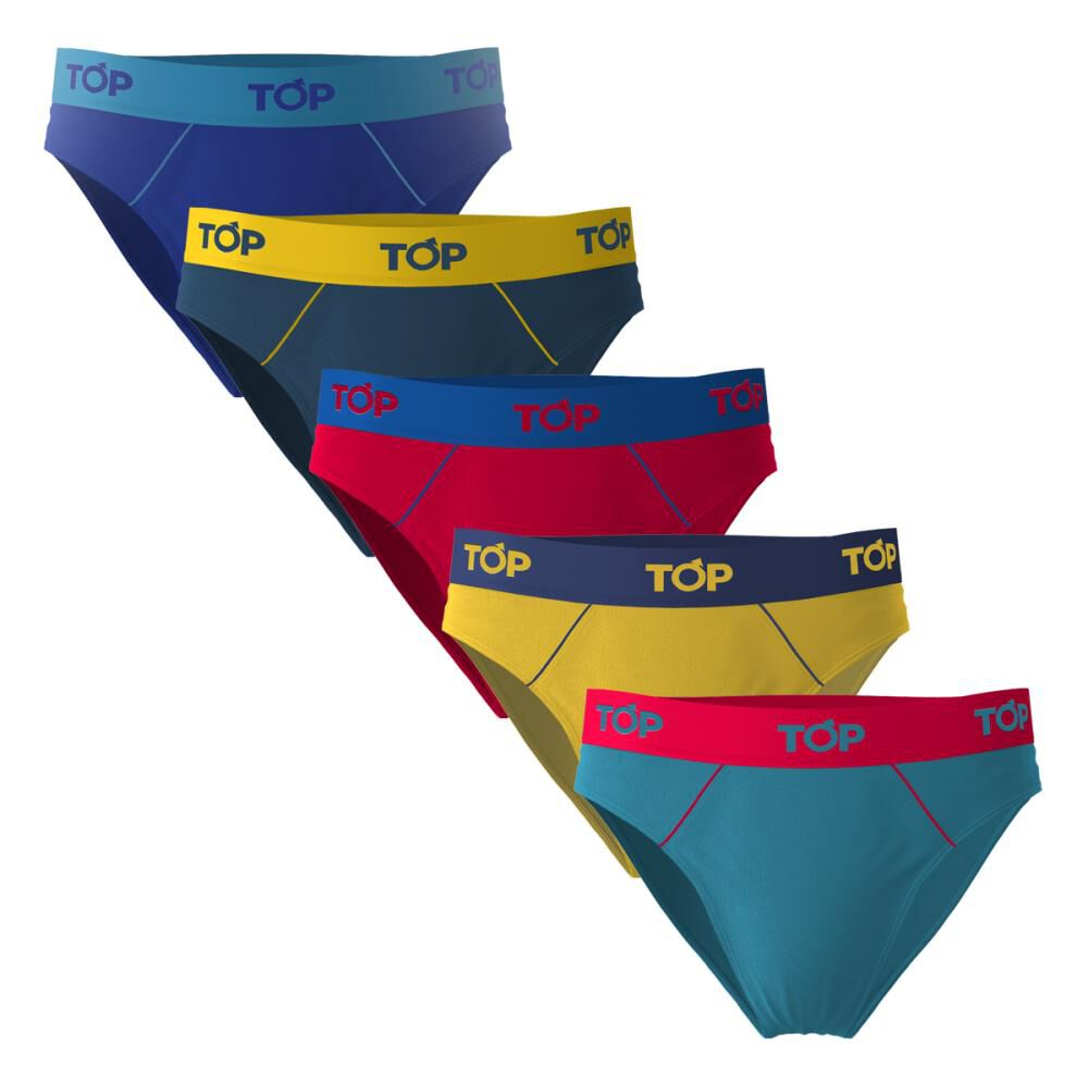Pack Slips Hombre Top / 5 Unidades image number 0.0