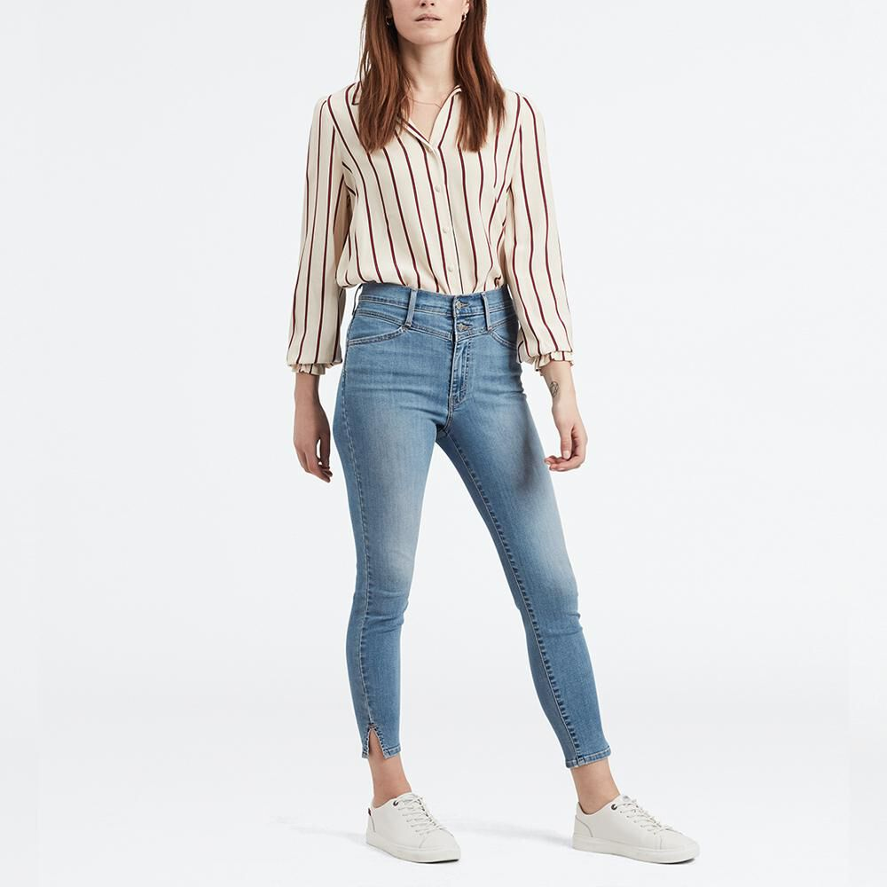 Jeans Mujer Super Skinny Tiro Alto Levi S En Oferta Hites Com