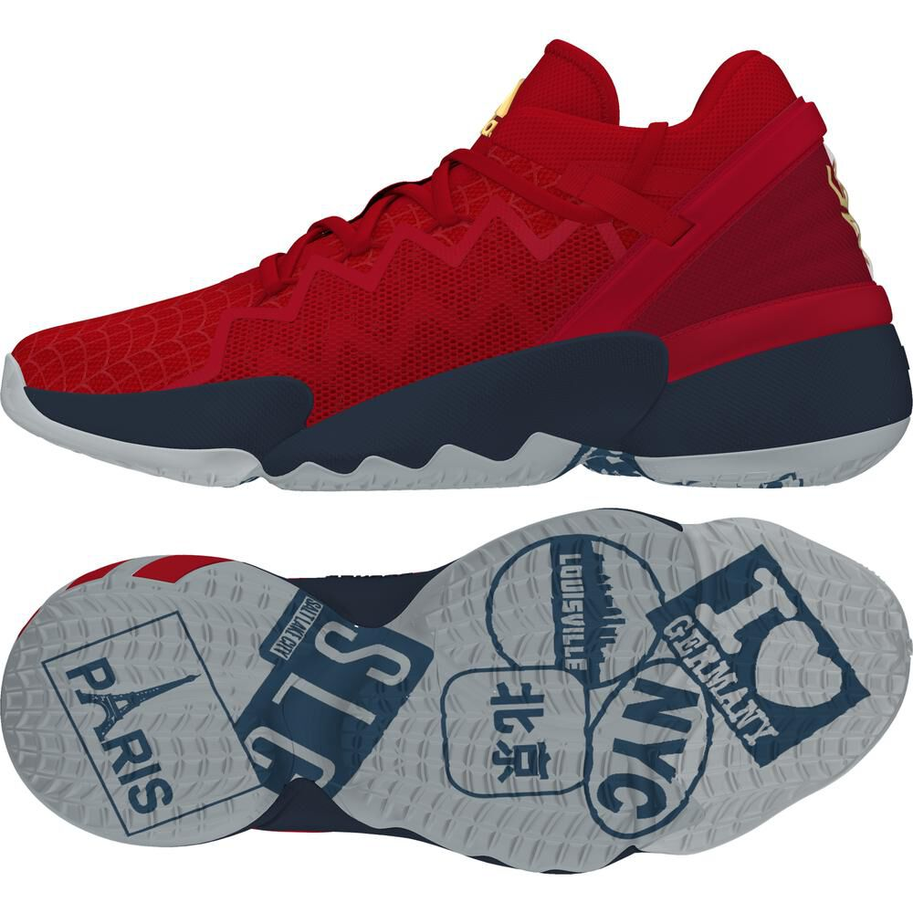 Zapatilla Basketball Hombre Adidas D.o.n. Issue 2 image number 4.0