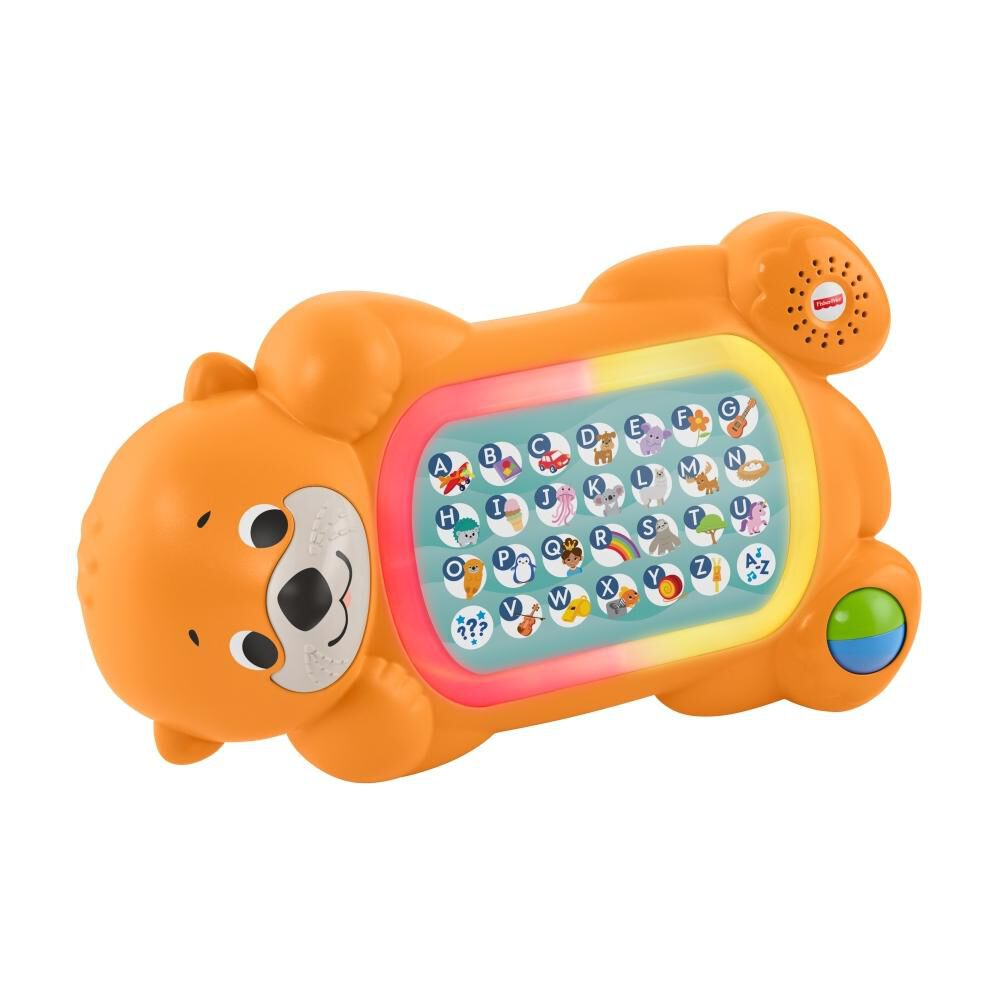 Peluche Didactico Fisher Price Nutria Abc image number 2.0