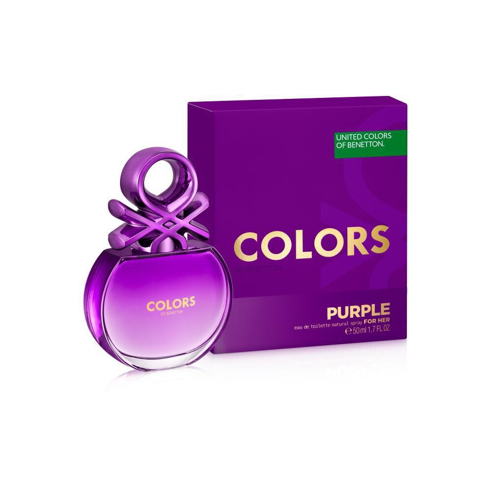 Perfume Colors Purple Woman Benetton / 50 Ml / Edt image number 0.0