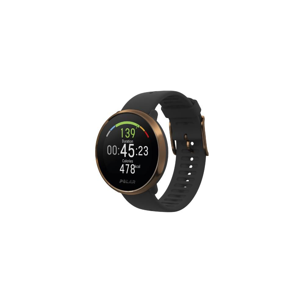 Smartwatch Polar Ignite   Negro / Cobre image number 0.0