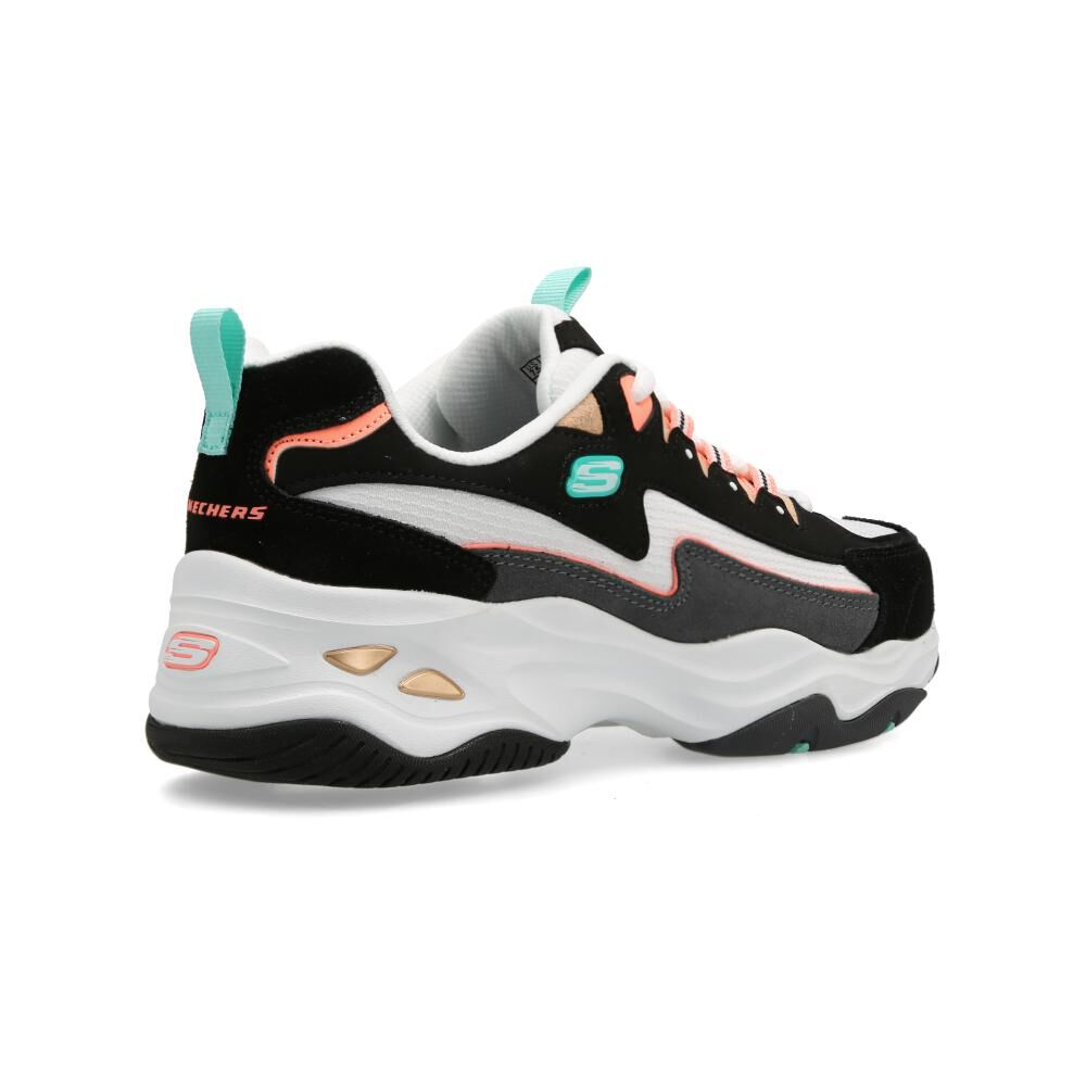 Zapatilla Urbana Mujer Skechers D'lites 4.0 Cool Step image number 2.0