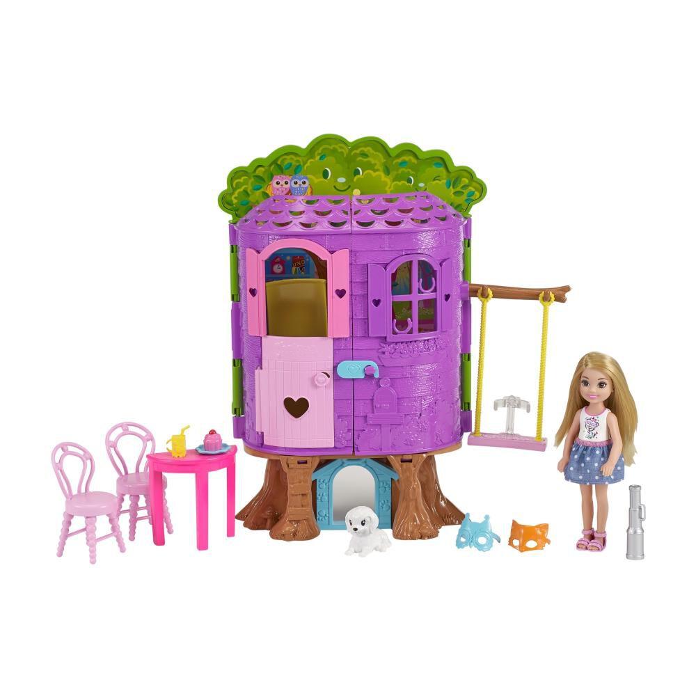 Muñeca Barbie Chelsea Casa Del Árbol image number 1.0