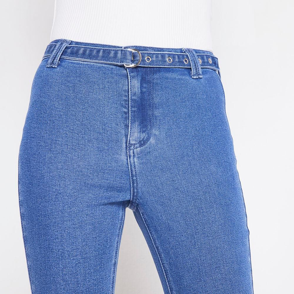 Jeans Tiro Alto Mujer Freedom image number 3.0