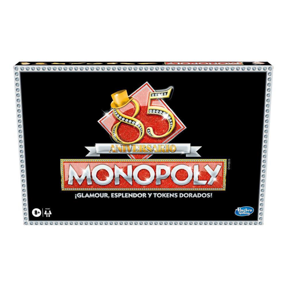 Juegos Familiares Monopoly 85 Aniversario image number 0.0