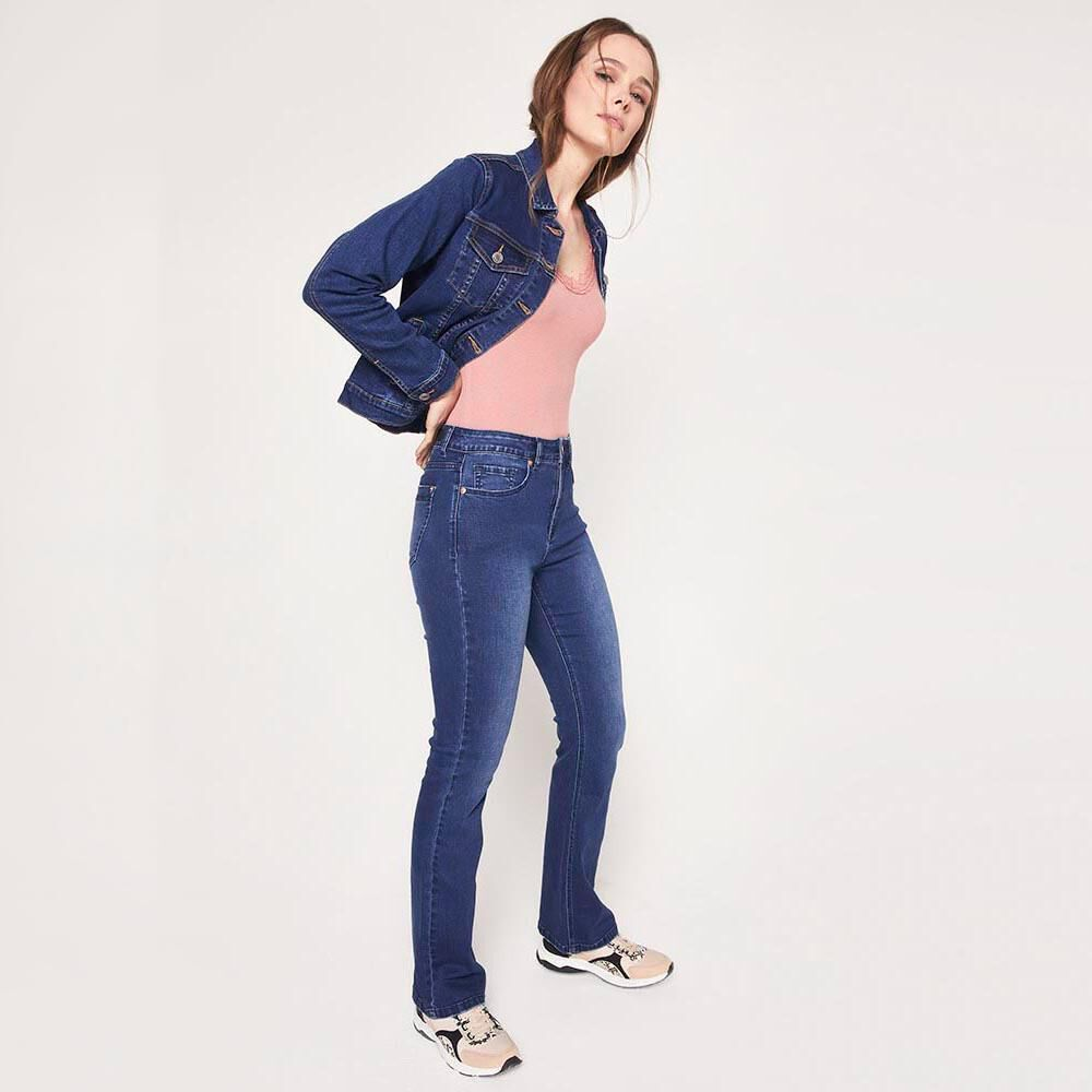 Chaqueta Jeans Mujer Kimera image number 4.0