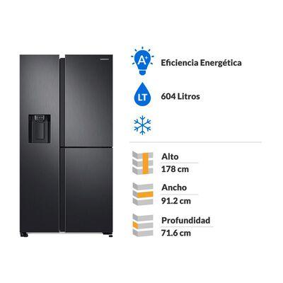 Refrigerador Side by Side Samsung Rs68N8670B1 / No Frost / 604 Litros