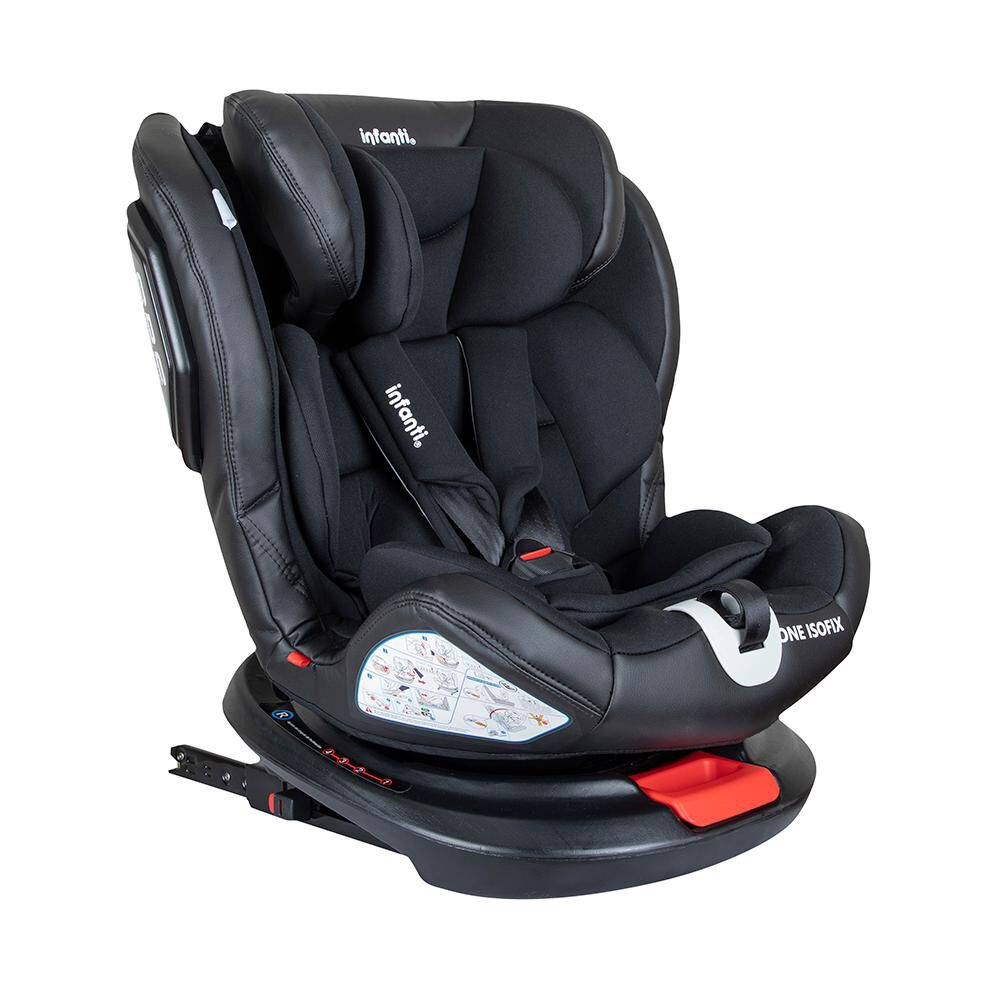 Silla De Auto Infanti Convertible One Isofix Black image number 0.0