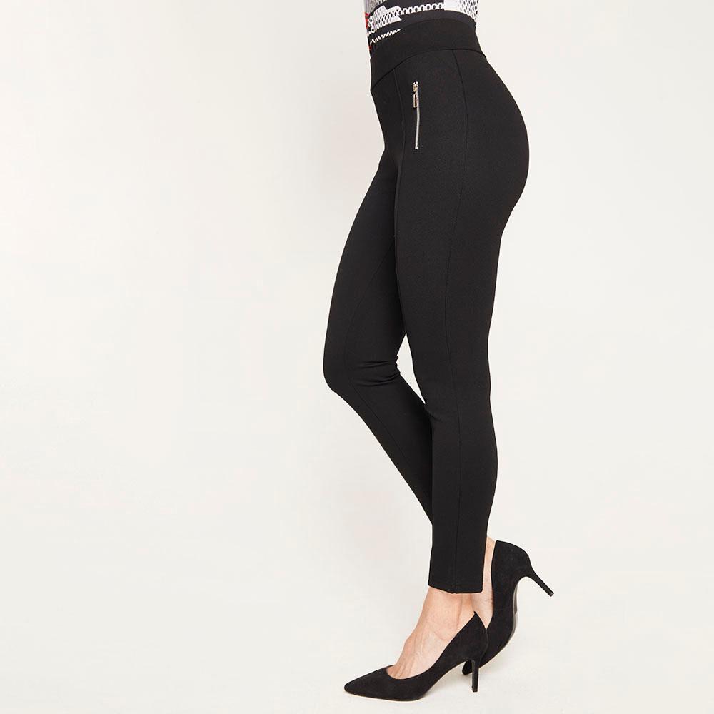 Calza Básico Pretina Ancha Skinny Mujer Lesage image number 5.0