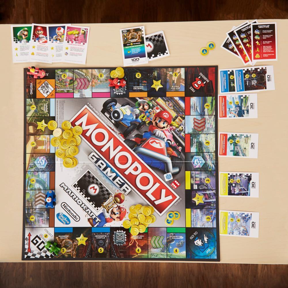 Juegos Familiares Monopoly Gamer Mario Kart image number 2.0