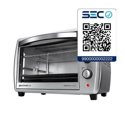 Horno Eléctrico Somela Steeloven To2800R / 28 Litros