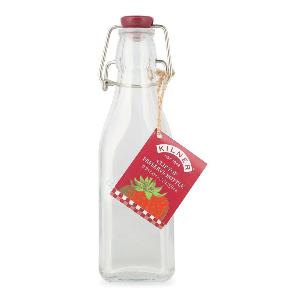 Botella Kilner Tapa Roja 250 Ml image number 0.0
