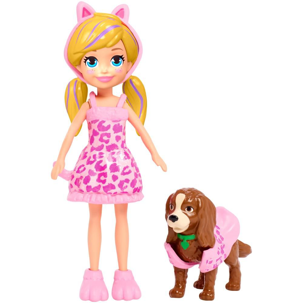 Accesorios Muñeca Polly Pocket Pack Disfraces image number 4.0