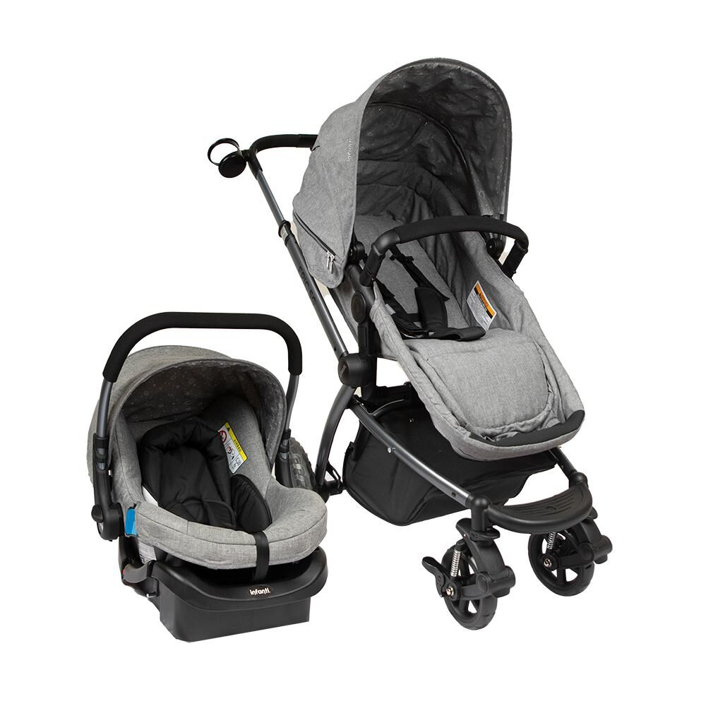 Coche Travel System Infanti System Epic 5g Grey image number 0.0