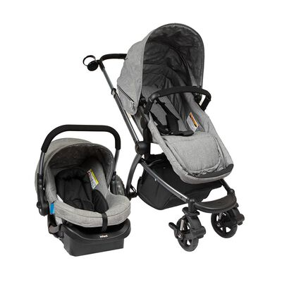 Coche Travel System Infanti System Epic 5g Grey