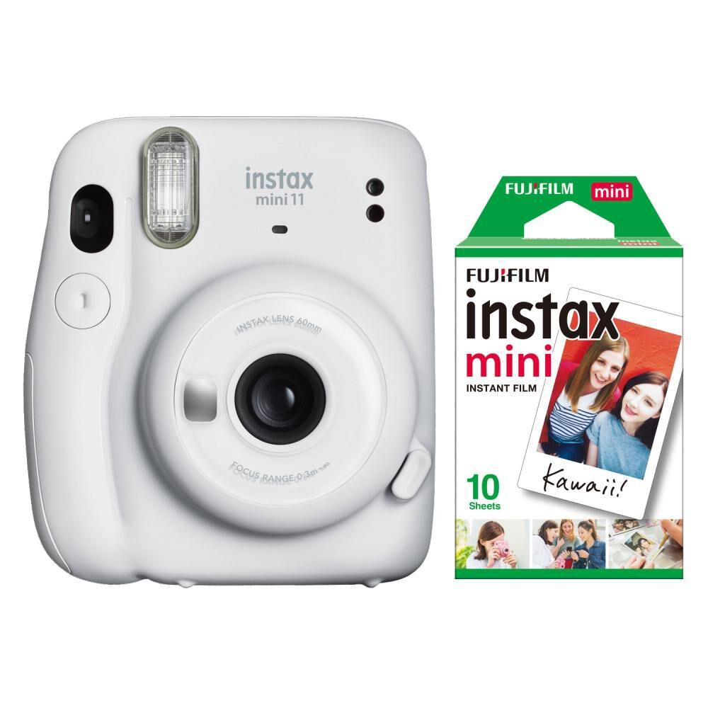 Cámara Instantánea Fujifilm Instax Mini 11 Blanco + Película image number 0.0