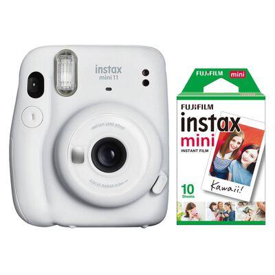 Cámara Instantánea Fujifilm Instax Mini 11 Blanco + Película