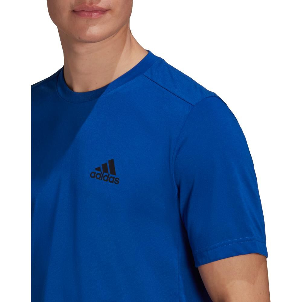 Polera Hombre Adidas D2m Feelready image number 4.0
