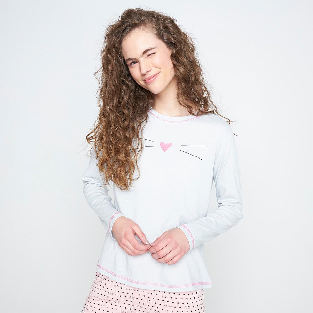 Polera De Pijama Mujer Freedom image number 0.0