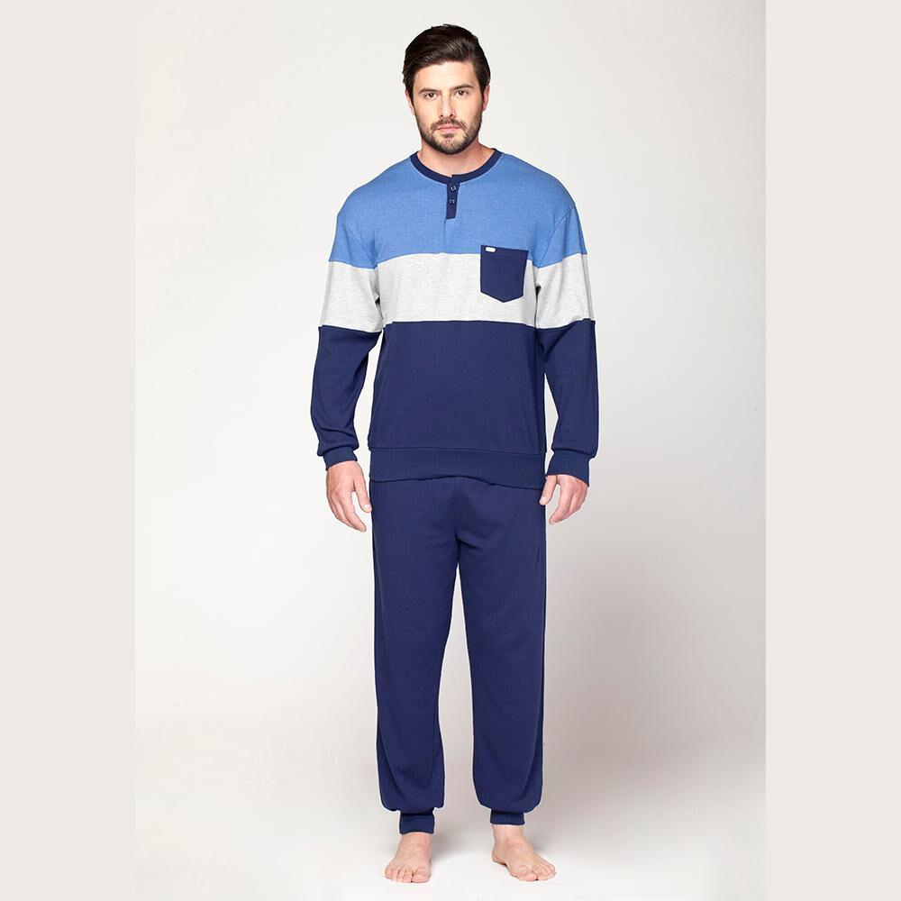 Pijama Largo Hombre Kayser / 2 Piezas image number 0.0