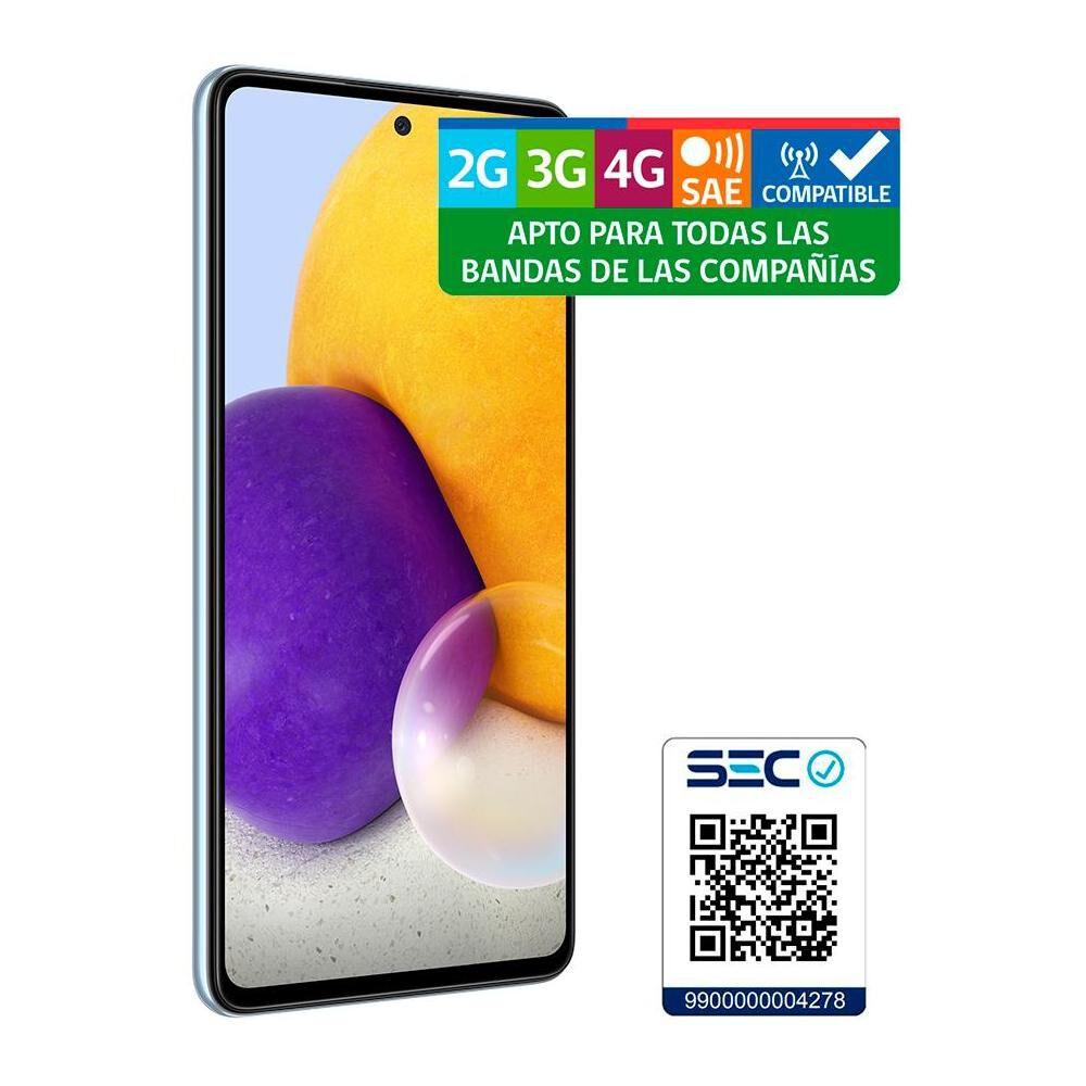 Smartphone Samsung A72 Blue / 128 Gb / Liberado image number 9.0