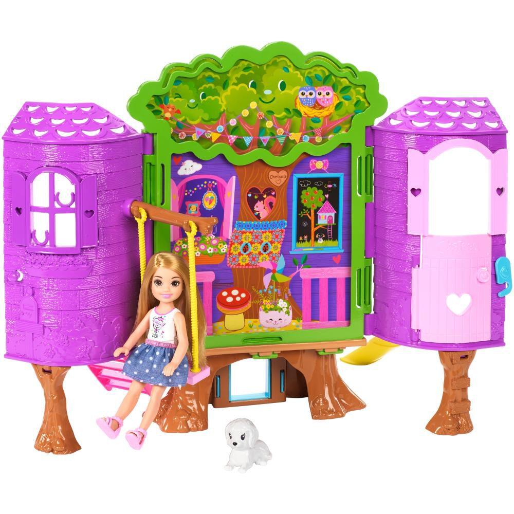 Muñeca Barbie Chelsea Casa Del Árbol image number 0.0